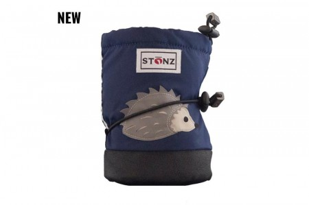 Stonz Baby Booties (str S) - Hedgehog