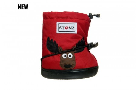 Stonz Toddler Booties (str M-L)- Moose