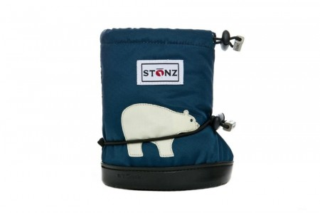 Stonz Toddler Booties (str M-XL) - Polar Bear