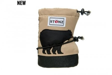 Stonz Baby Booties (str S) - Black Bear