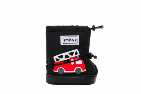 Stonz Toddler Booties (str M-XL) - Firetruck