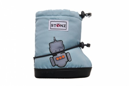 Stonz Toddler Booties (str M-L)- Robot