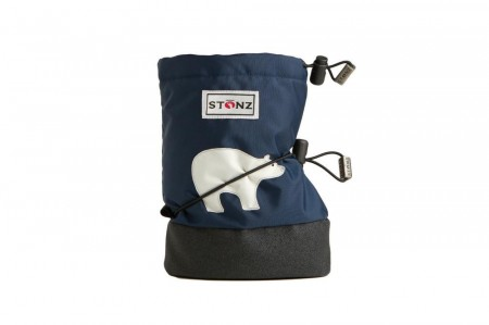 Stonz Baby Booties (str S) - Polar Bear