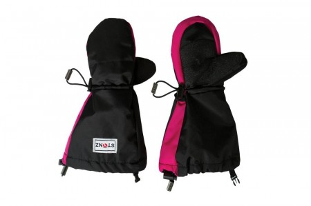 Stonz Youth Mitts - Black/Pink