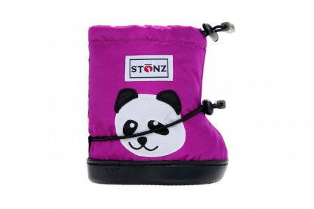 Stonz Toddler Booties  (str M-L) - Panda