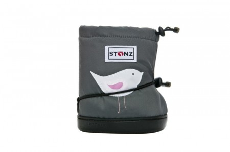 Stonz Toddler Booties (str L) - Bird Grey