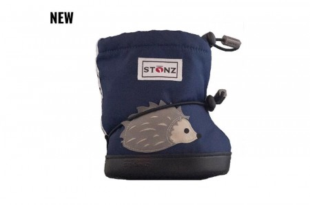Stonz Toddler Booties (str M-L)- Hedgehog