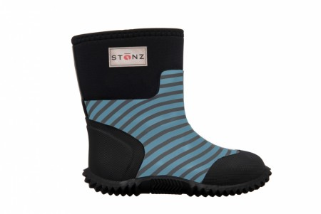 Stonz The West - Neoprenstøvler - Stripes - Grey & Haze blue - FORHÅNDSBESTILLING - KOMMER SNART