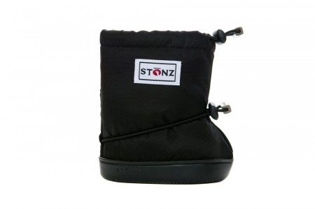 Stonz Toddler Booties (str M-L)- Black