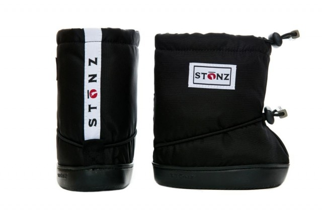 Stonz toddler booties - Black - par