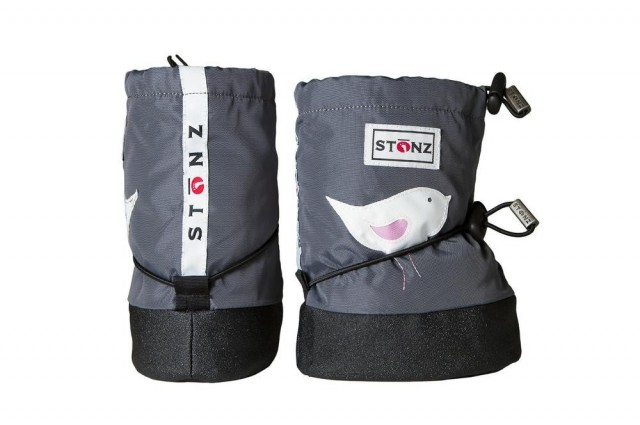 Stonz booties Grey Bird - begge