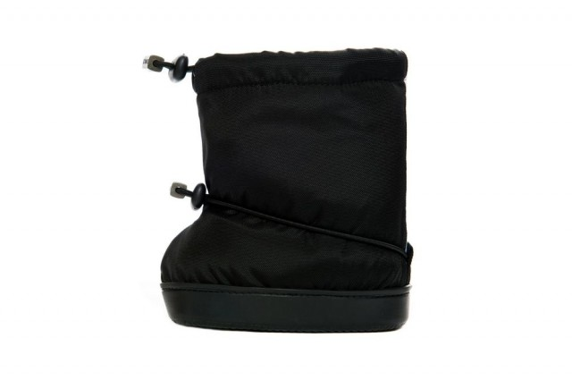 Stonz toddler booties - Black - andre siden