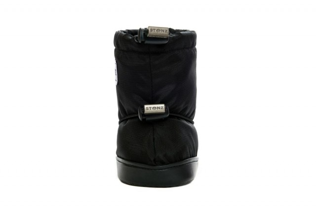 Stonz toddler booties - Black - front